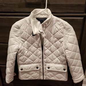 Youth Ralph Lauren Quilted Fall Jacket